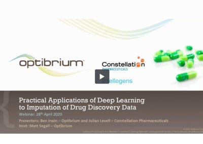Practical Applications of Deep Learning to Imputation of Drug Discovery Data