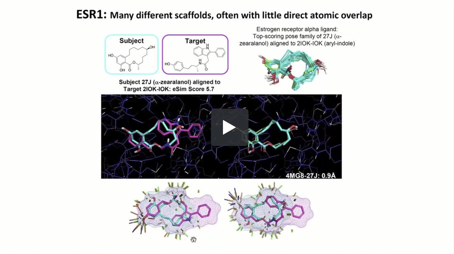 eSim-3D: Electrostatic-Field and Surface-Shape Similarity for Ligand-Based Drug Design